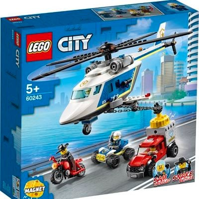 Police Helicopter Chase