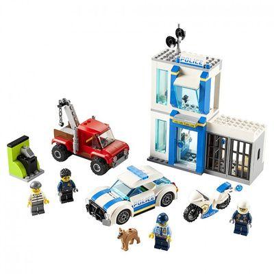 Caja De ladrillos: Policía