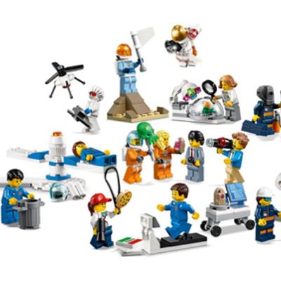Pack de Minifiguras: Investigación y Desarrollo Espacial