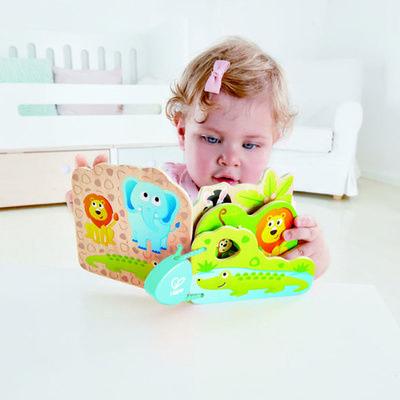Libro de animales salvajes para bebés