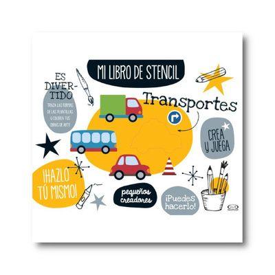 Mi libro stencil. Transportes