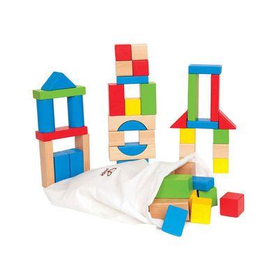 Set de bloques de madera 50 uniades