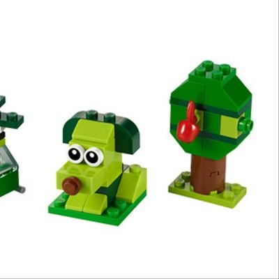 Ladrillos creativos verdes