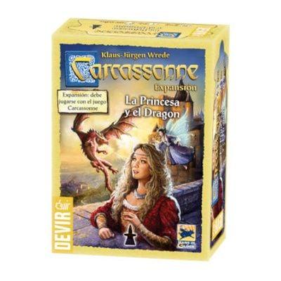 Carcassonne La Princesa y el Dragón (2da edición)