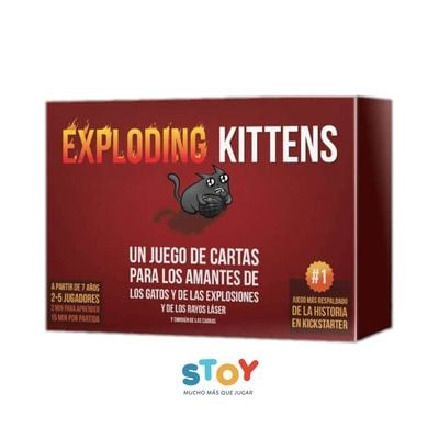 Exploding Kittens Base