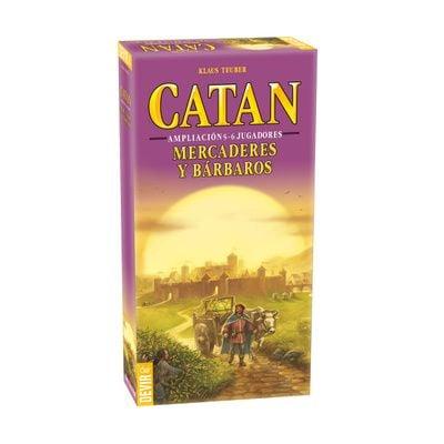 Catan Mercaderes y Bárbaros Ampliación – 5 y 6 jugadores
