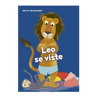 Leo se viste