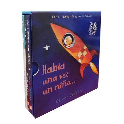Había una vez un niño. Pack 3 libros Oliver Jeffers
