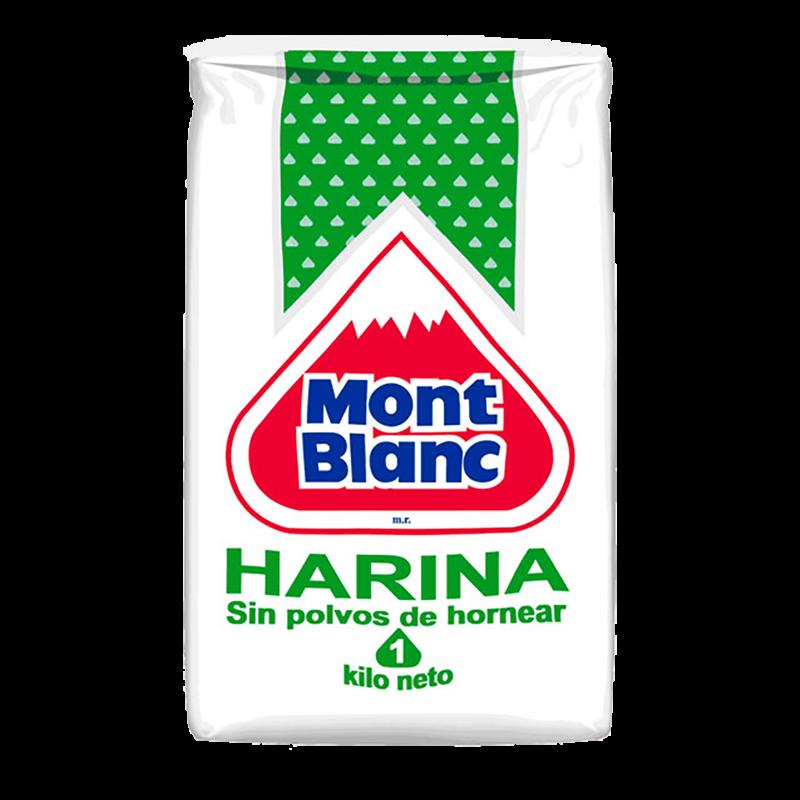 HARINA S/POLVO Mont Blanc 1 Kg