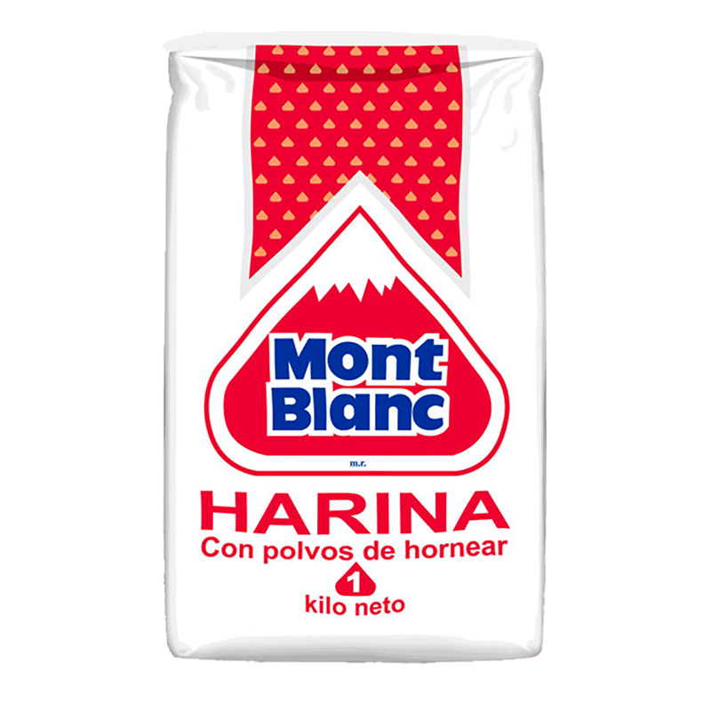 HARINA C/POLVO Mont Blanc 1 Kg