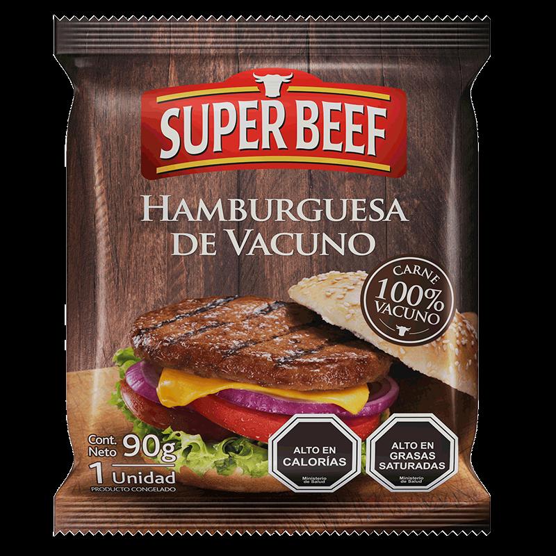 HAMBURGUESA VACUNO Super Beef 5x90 g
