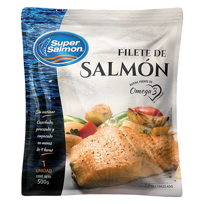 FILETE SALMON Super Salmon 500 g