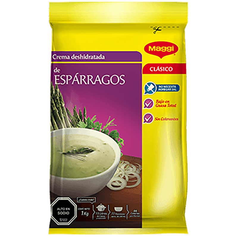 CREMA DE ESPARRAGO MAGGI 1 Kg
