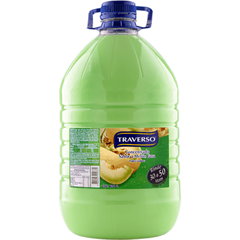 JUGO CONCENTRADO MELON TUNA TRAVERSO 5 L
