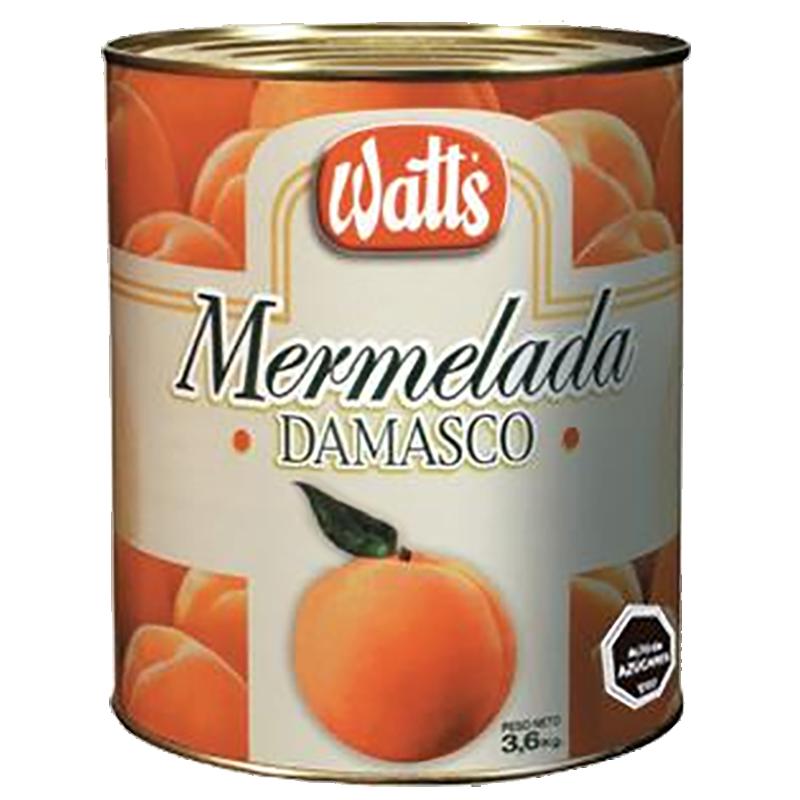 MERMELADA DAMASCO WATT'S 3,6 Kg
