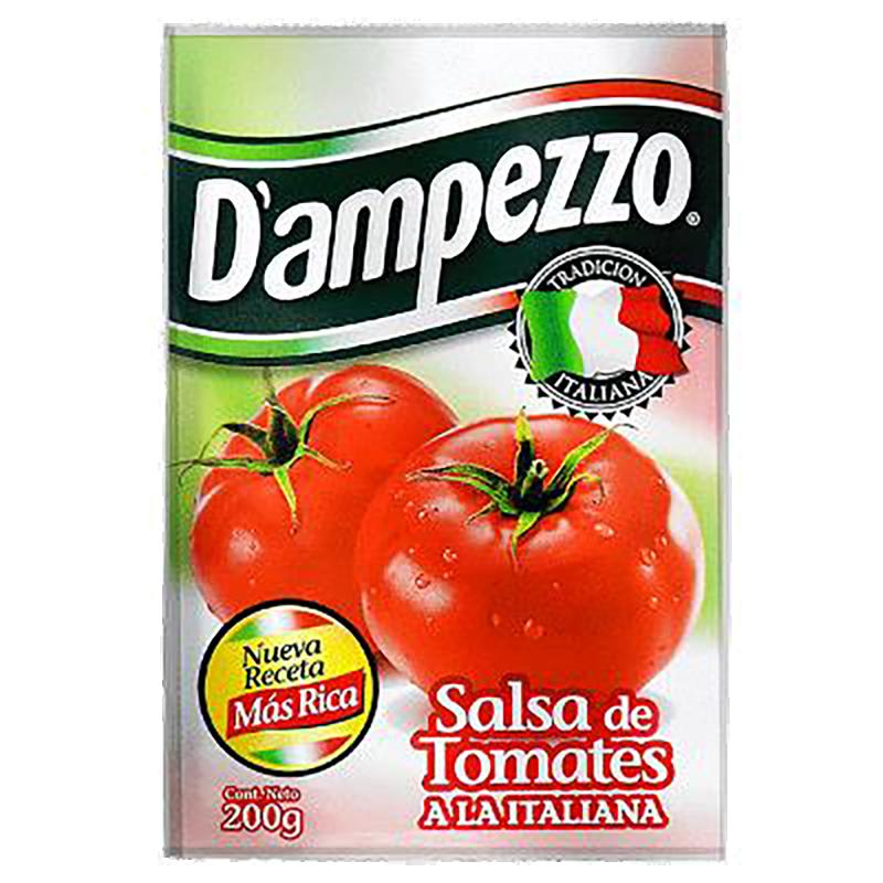 SALSA DE TOMATE DAMPEZZO 200 g