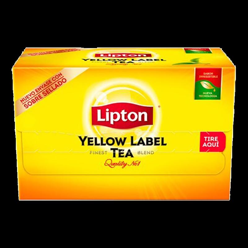 TE YELLOW LABEL LIPTON 20 BOLSAS