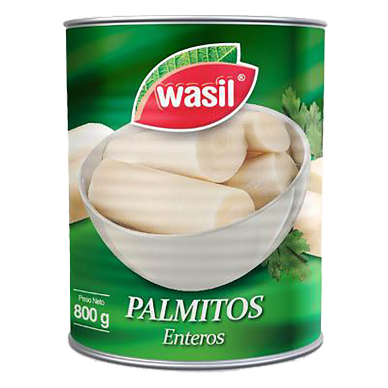 PALMITOS ENTEROS WASIL 800 g