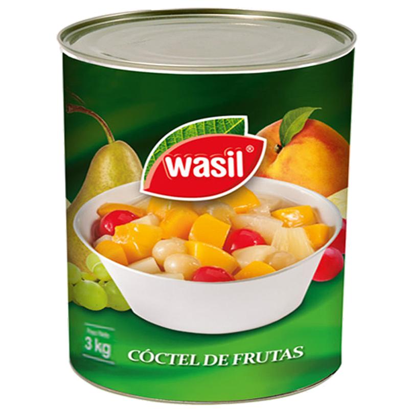 COCTEL DE FRUTAS WASIL 3 L