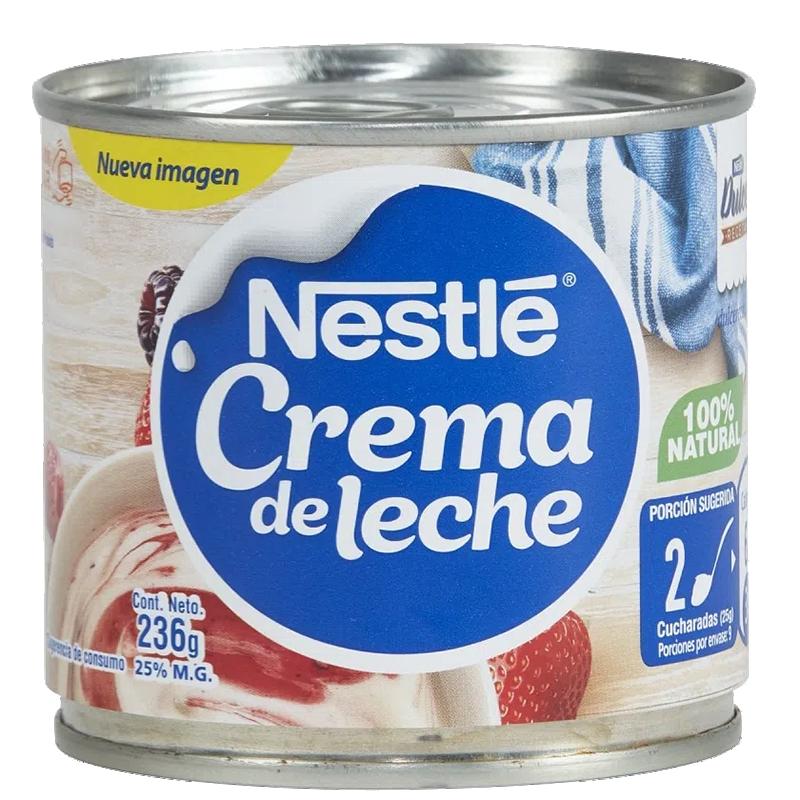 CREMA DE LECHE NESTLÉ 236 g