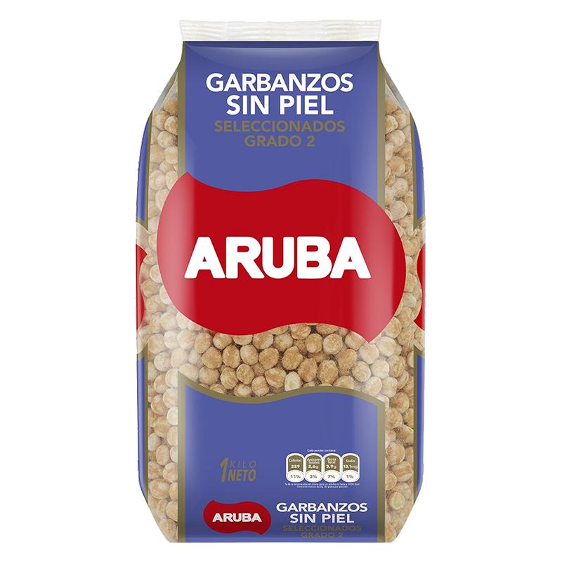 GARBANZOS SIN PIEL Aruba 1 Kg