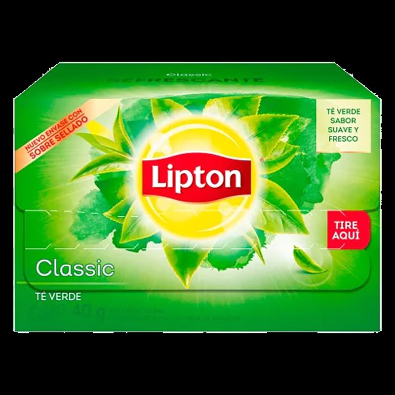 TE VERDE LIPTON 20 BOLSAS