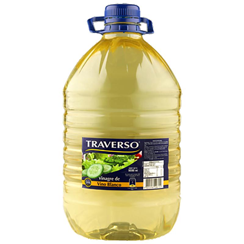 VINAGRE BLANCO TRAVERSO 5 L