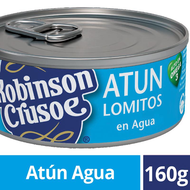 Atún lomito al agua Robinson Crusoe 160 gr