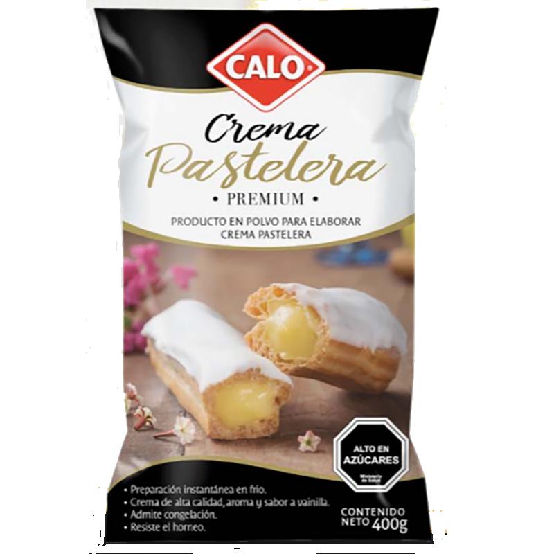 Crema pastelera premium Calo 400 gr