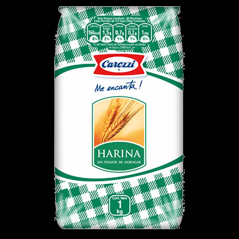 Harina sin polvos Carozzi 1 kg