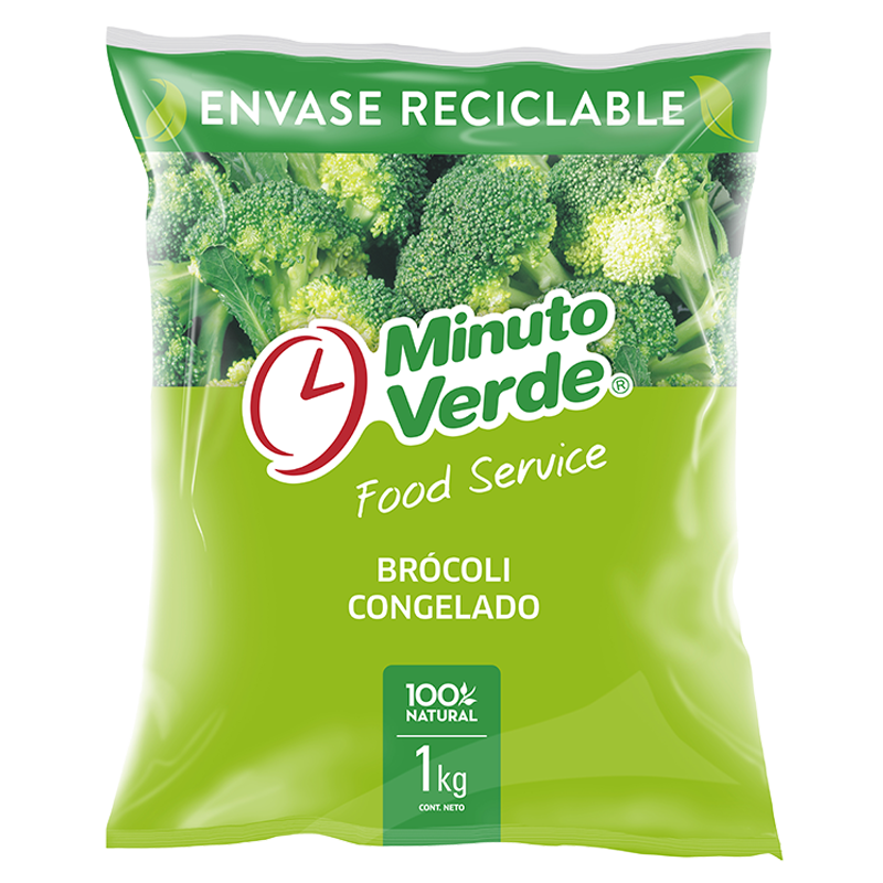 Brocoli Minuto Verde 1 kg