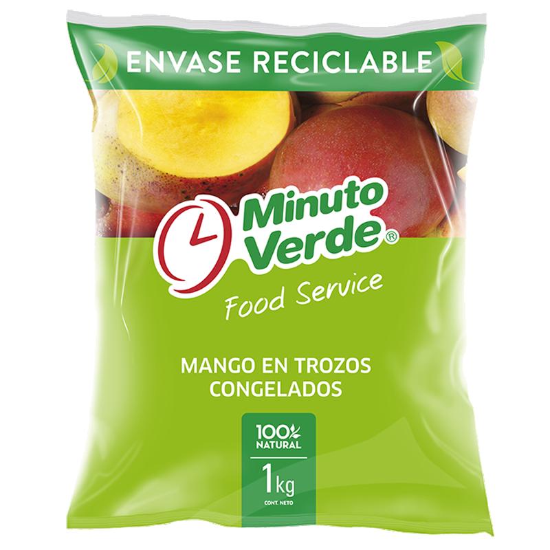 Mango trozo Minuto Verde 1 kg