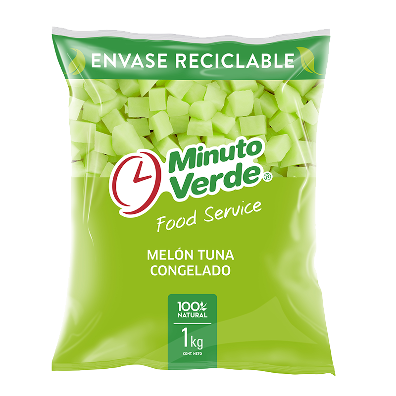Melón tuna Minuto Verde 1 Kg
