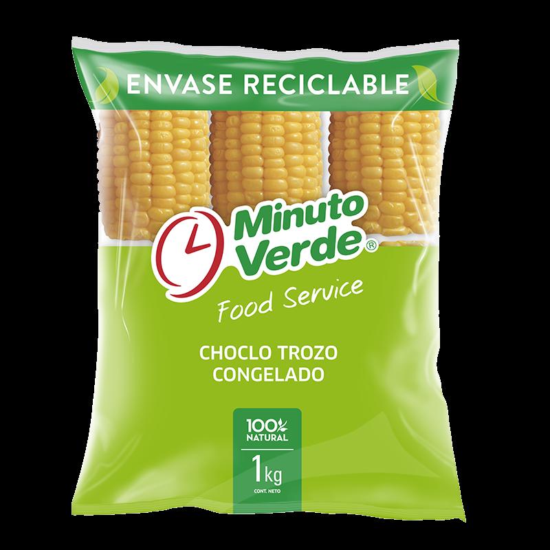 Choclo trozo Minuto Verde 1 Kg