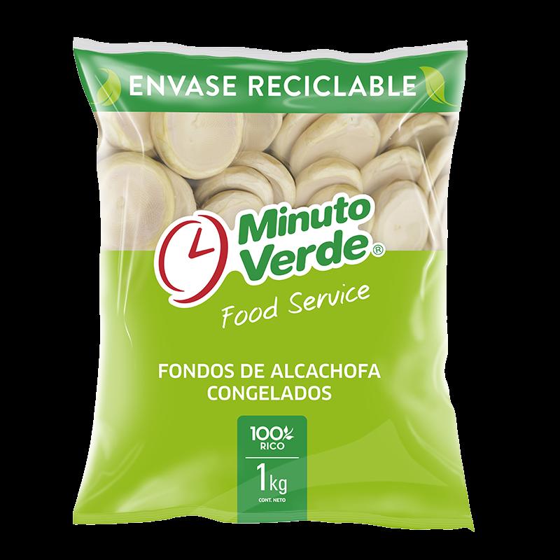 Fondos de alcachofa Minuto Verde 1 Kg