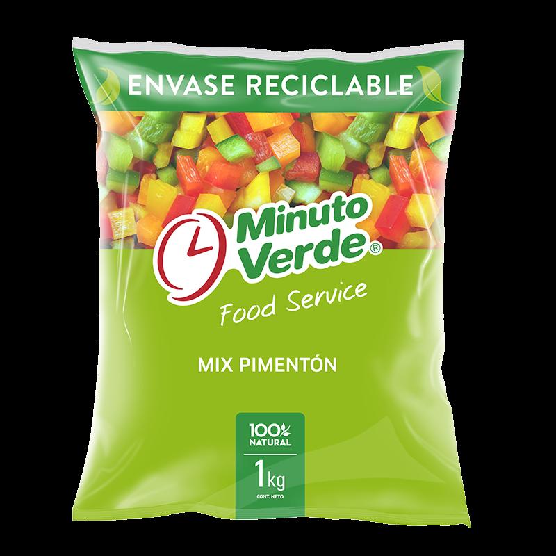 Mix de pimentones Minuto Verde 1 Kg
