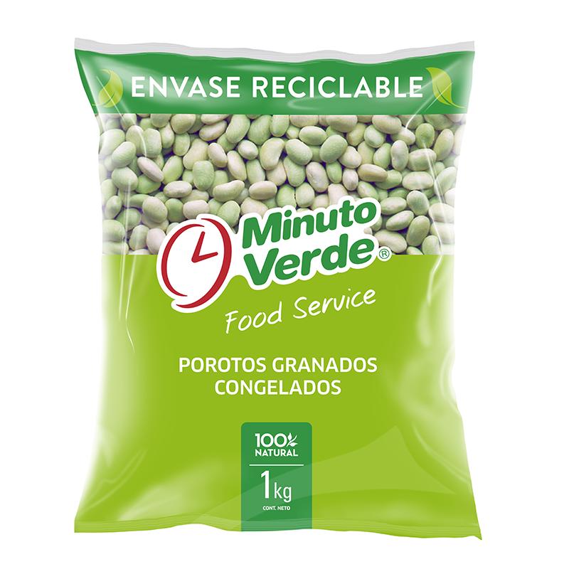 Porotos granados Minuto Verde 1 Kg