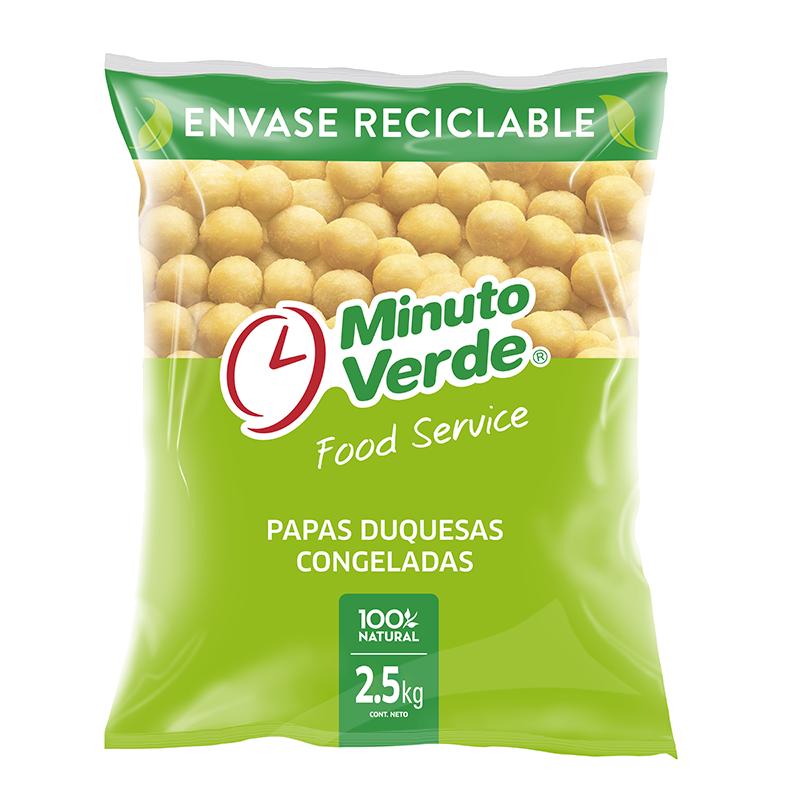 Papas duquesas Minuto Verde 2,5 Kg
