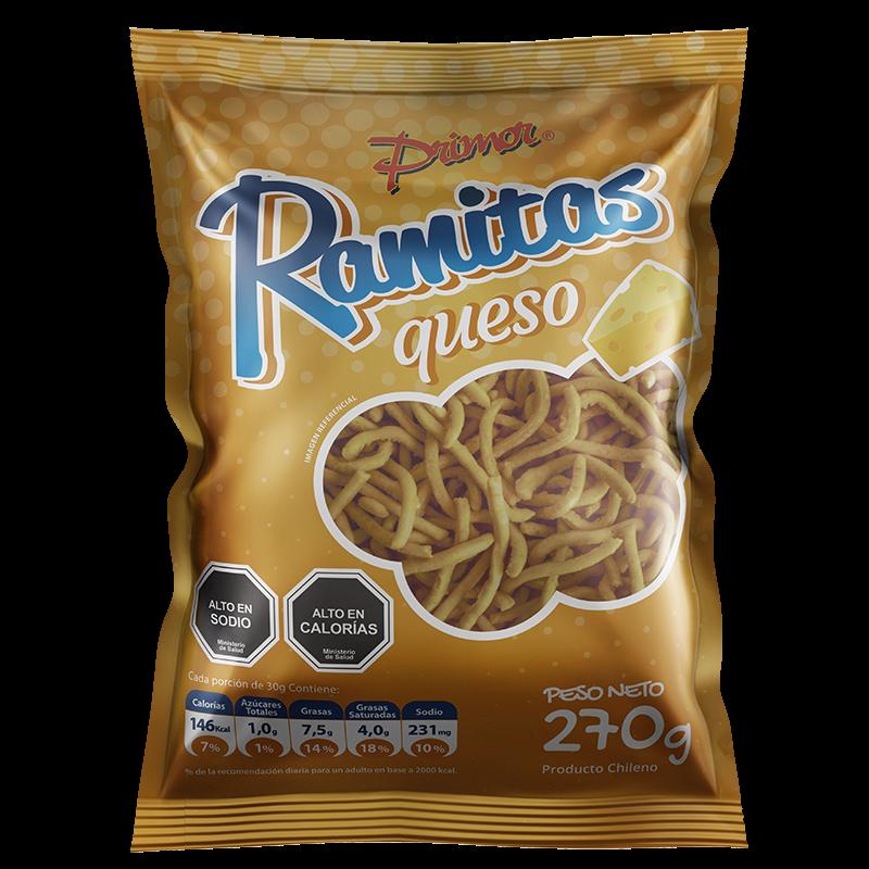 Ramitas sabor Queso Primor 270 gr