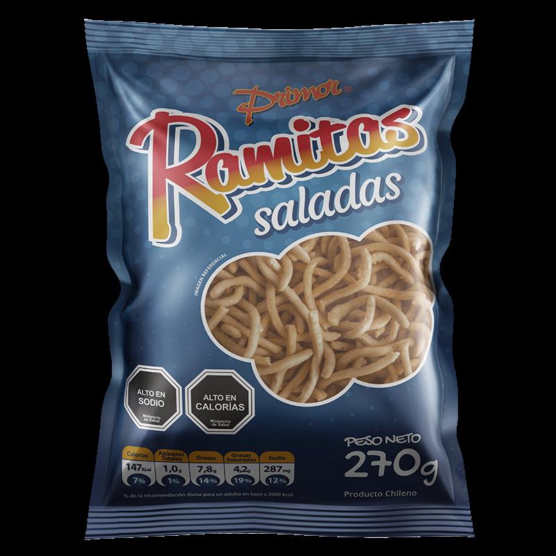 Ramitas Saladas Primor 270 gr