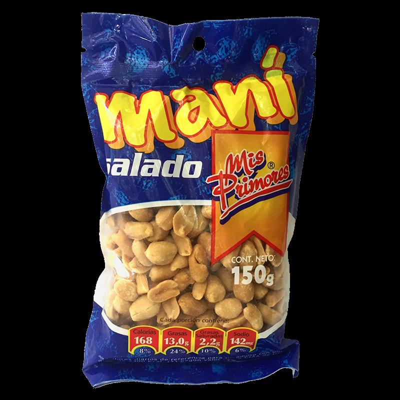 Maní Salado Primor 150 gr
