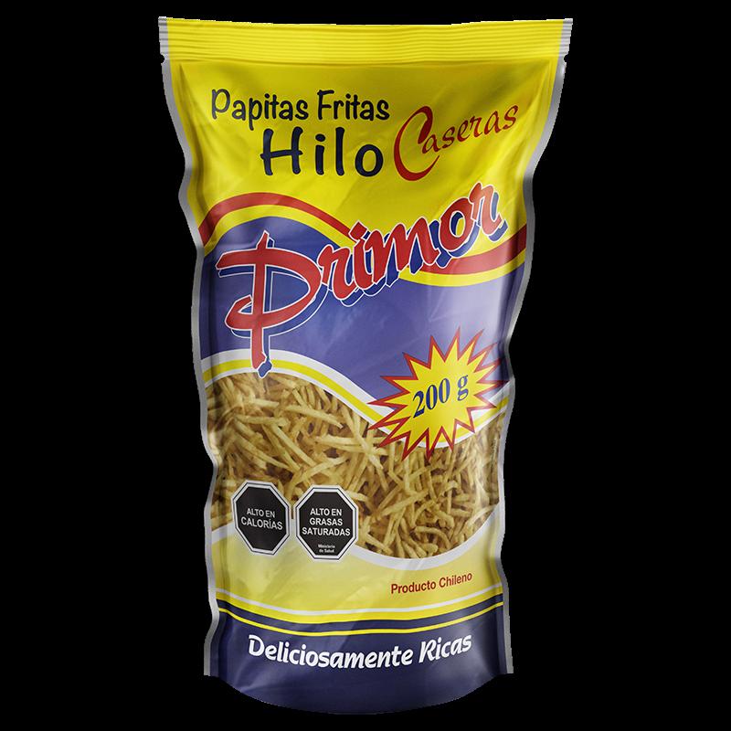 Papas Fritas Hilo Primor 200 gr