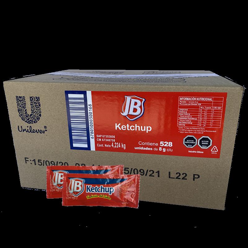 Ketchup JB 528 x 8 g