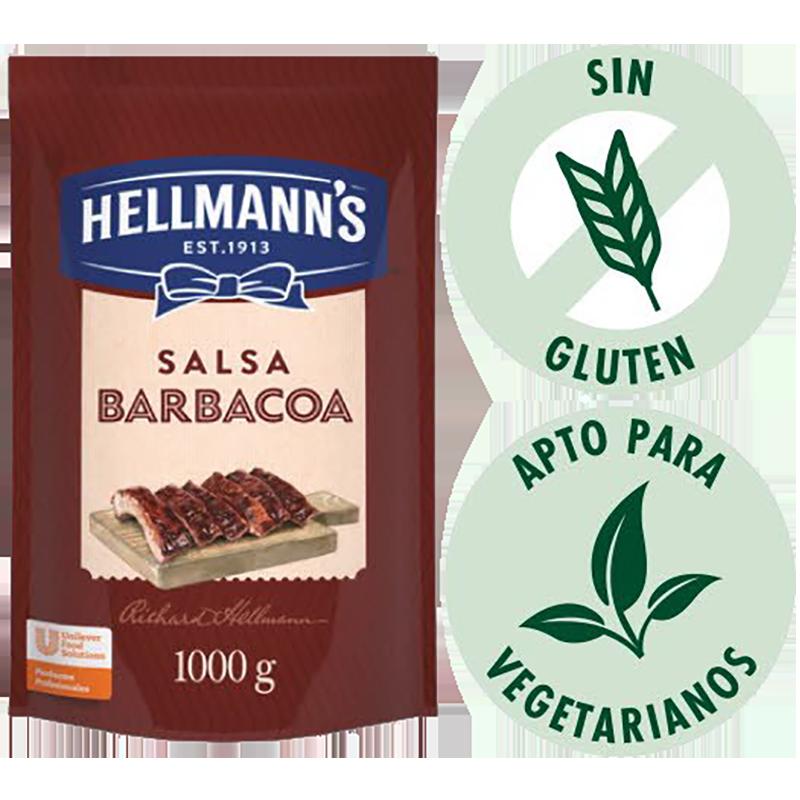 Salsa barbacoa Hellmann's 1 Kg