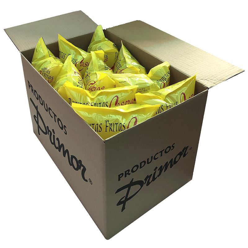 Caja papas fritas Primor 230 gr