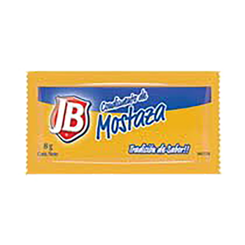 Mostaza sachet JB 528 x 8 g