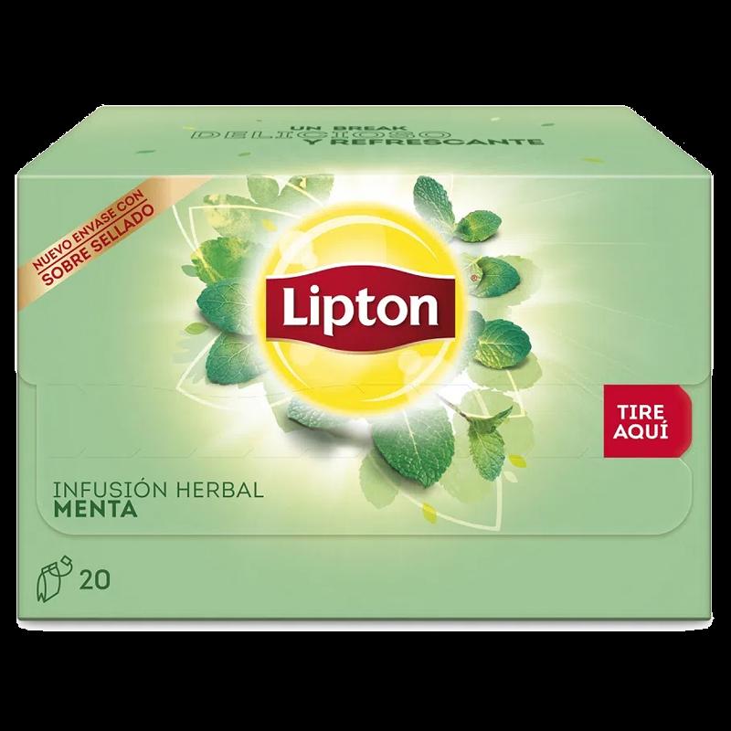 Infusión menta Lipton 20 bolsas