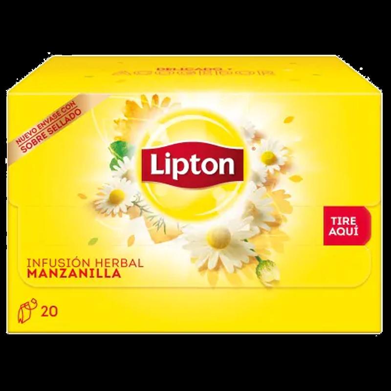 Infusión manzanilla Lipton 20 bolsas