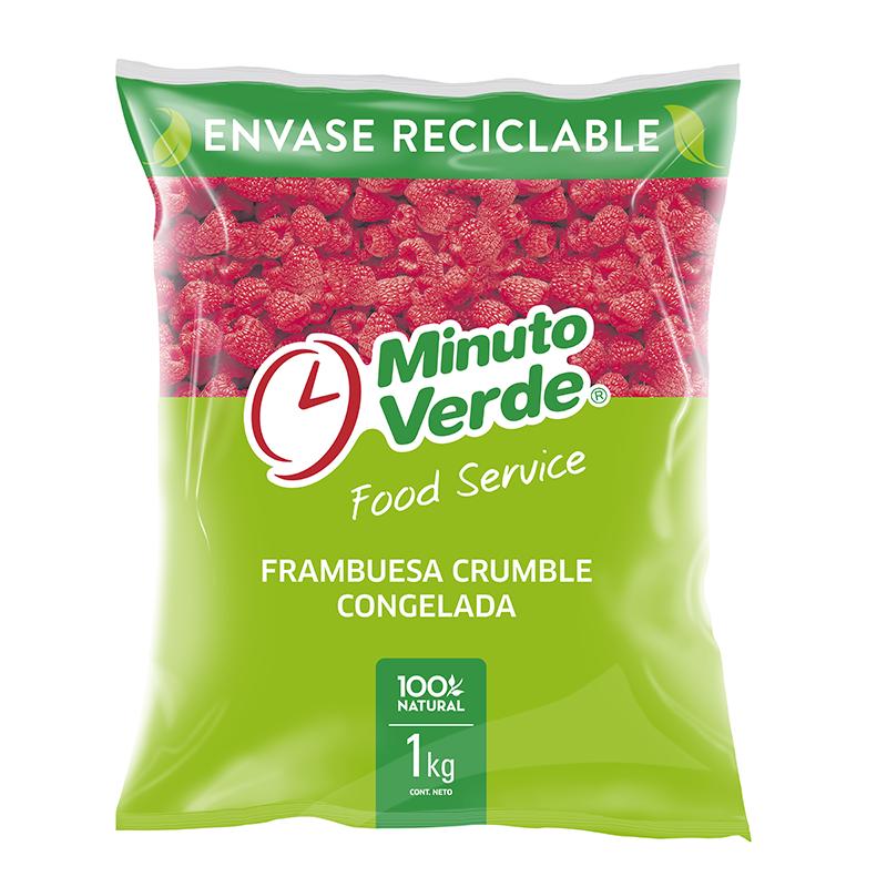 Frambuesa Crumble Minuto Verde 1 Kg