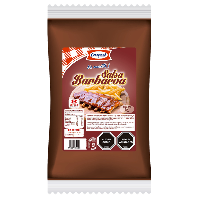 Salsa Barbacoa Carozzi 1 Kg